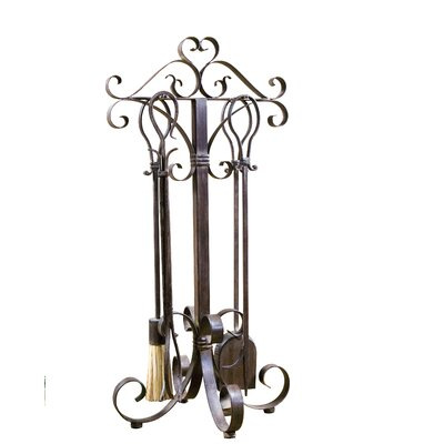 UtterMost Daymeion 4 Piece Metal Fireplace Tool Set at Sears.com