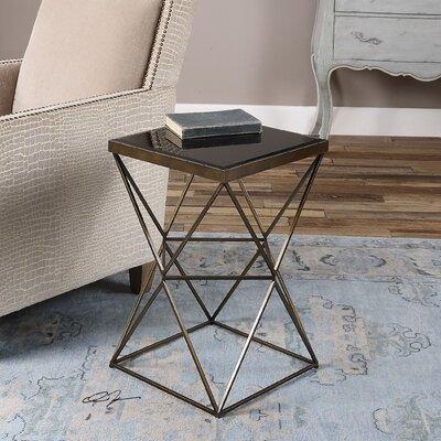Bremond Block Frame End Table