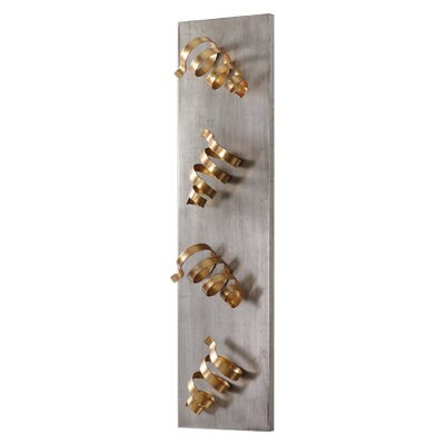 Brisa 4 Bottle Wall Mounted Wine Rack
