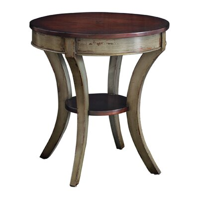 Ouellette Wooden End Table
