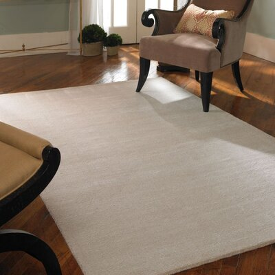 Rhine Cloud White Rug Rug Size: 9 x 12