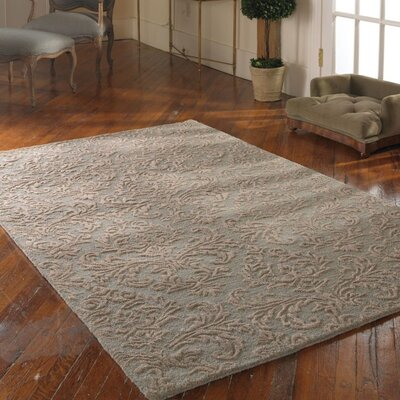 St. Petersburg Light Blue Rug Rug Size: 9 x 12
