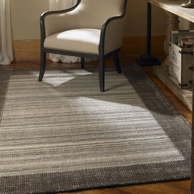 Zell Black/Gray Area Rug Rug Size: 8 x 10