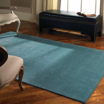 Rhine Cerulean Blue Rug Rug Size: 5 x 8