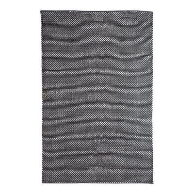 Philomene Hand-Woven Dark Gray Indoor/Outdoor Area Rug Rug Size: 5 x 8