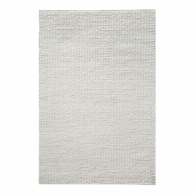 Gaskell Hand-Tufted Wool Ivory Area Rug Rug Size: 8 x 10