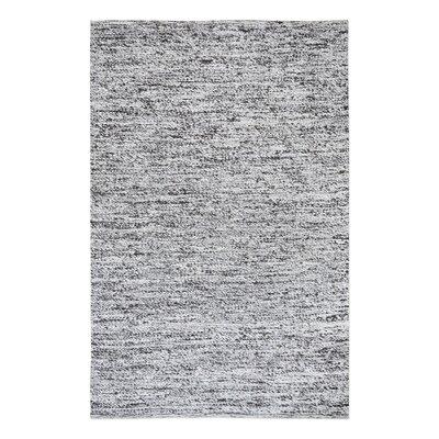 Ramos Hand-Woven Gray Area Rug Rug Size: 9 x 12