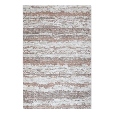 Clea Hand-Woven Brown Area Rug Rug Size: 9 x 12
