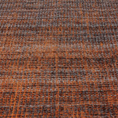 Neese Hand-Woven Wool Burnt Orange Area Rug Rug Size: 5 x 8