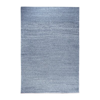Benson Hand-Woven Blue Area Rug Rug Size: 5 x 8