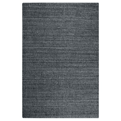 Peyton Hand-Woven Wool Charcoal Area Rug Rug Size: 8 x 10