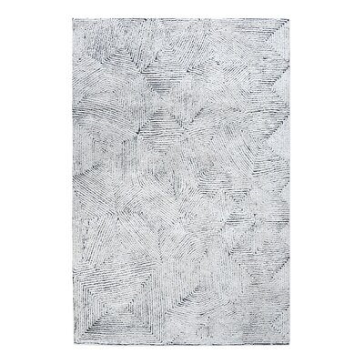 Nicol Hand-Tufted Blue Area Rug Rug Size: 8 x 10