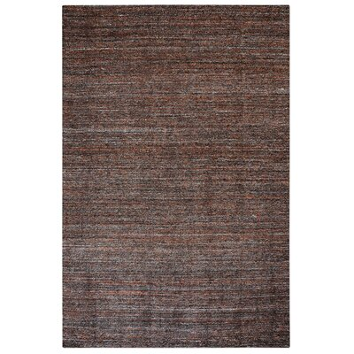 Neely Hand-Woven Wool Terra Cotta Area Rug Rug Size: 8 x 10