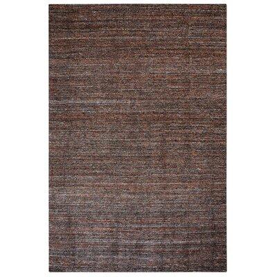 Neely Hand-Woven Wool Terra Cotta Area Rug Rug Size: 5 x 8