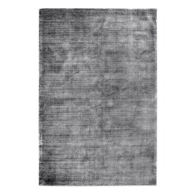 Netto Hand-Woven Gray Area Rug Rug Size: 5 x 8