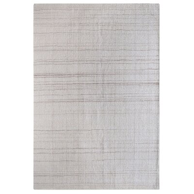 Neese Hand-Woven Wool Ivory Area Rug