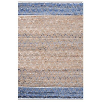 Colworth Hand-Woven Blue Area Rug Rug Size: 5 x 8