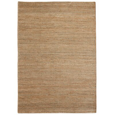 Newburn Hand-Woven Brown Area Rug Rug Size: 5 x 8