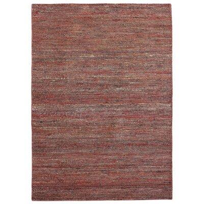 Newburn Hand-Woven Rust Area Rug Rug Size: 5 x 8