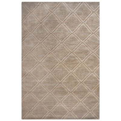 Brandy Hand Tufted Brown Area Rug Rug Size: Rectangle 5 x 8
