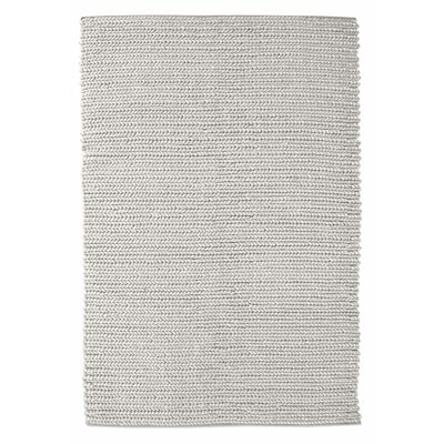 Raven Hand Woven Wool Ivory Area Rug Rug Size: Rectangle 8 x 10