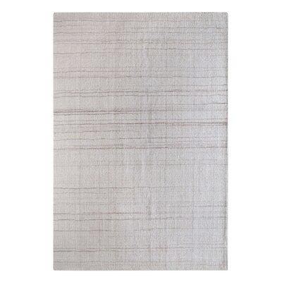 Neese Hand-Woven Wool Ivory Area Rug Rug Size: 8 x 10