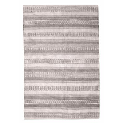 Colliers Hand-Woven Taupe Indoor/Outdoor Area Rug Rug Size: 5 x 8