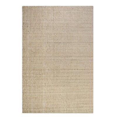 Peyton Hand-Woven Wool Beige Area Rug Rug Size: 8 x 10