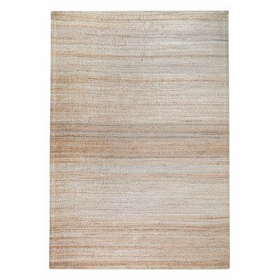 Shafter Hand-Woven Ecru Area Rug Rug Size: 9 x 12