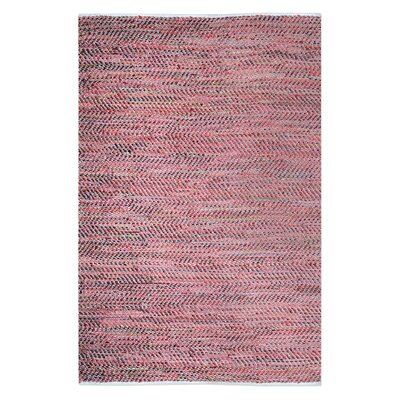 Neidig Hand-Woven Red Area Rug Rug Size: 8 x 10