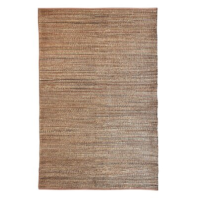 Heathrow Hand-Woven Tan Area Rug Rug Size: 8 x 10