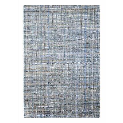 Neilson Hand-Woven Denim Area Rug Rug Size: 9 x 12