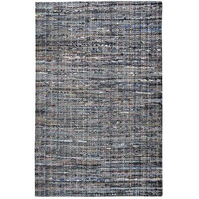 Neilson Hand-Woven Blue/Gray Area Rug Rug Size: 5 x 8