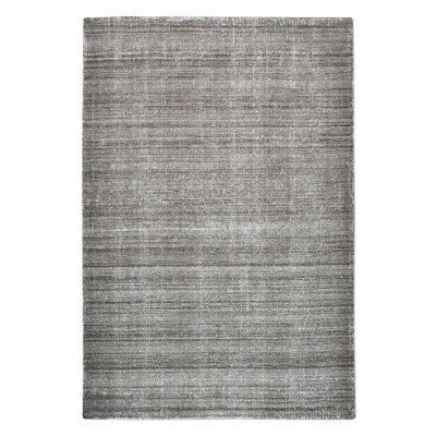 Neese Hand-Woven Wool Charcoal Area Rug Rug Size: 8 x 10