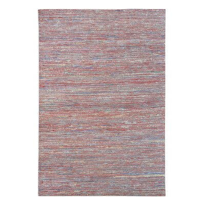 Nicastro Hand-Woven Multi-Colored Area Rug Rug Size: 5 x 8
