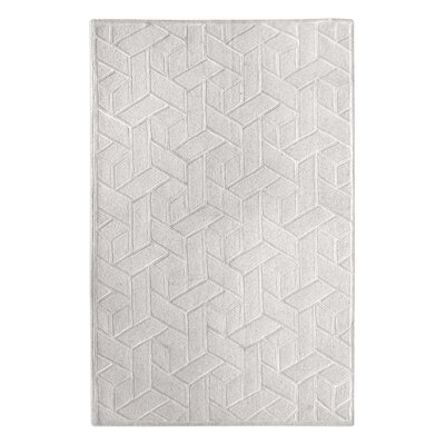 Netherton Hand-Tufted Wool Ivory Area Rug Rug Size: 8 x 10