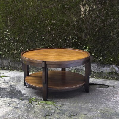Eugenie Round Wooden Coffee Table