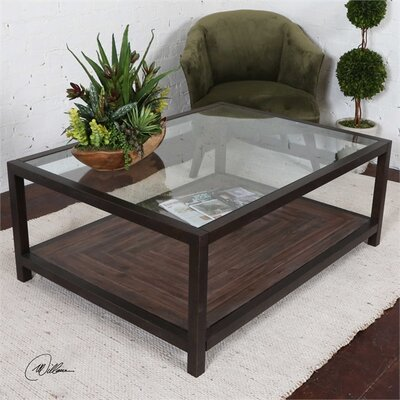 Dania Glass Coffee Table