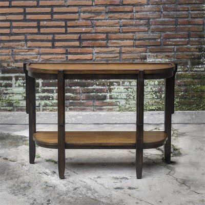 Eugenie Wooden Console Table