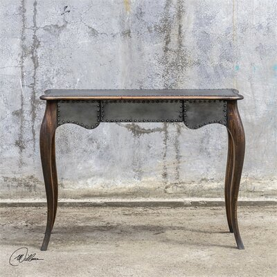 Inessa Industrial Console Table