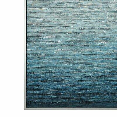 'Filtered Modern' Framed Print on Canvas