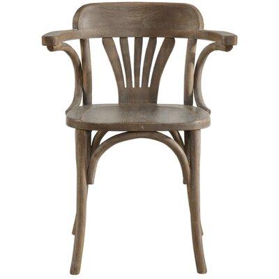 Quinn Arm Chair Finish: Natural