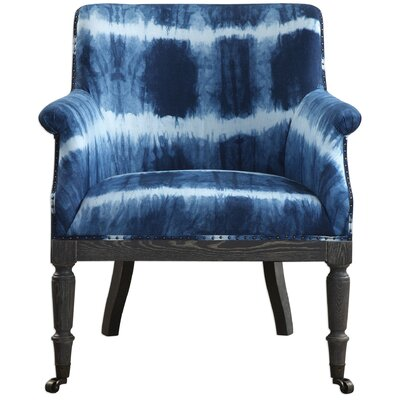 Clyburn Cobalt Arm Chair