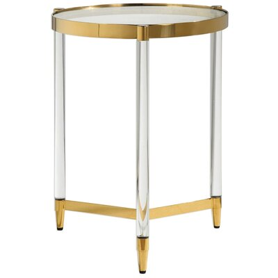Sudie Glass End Table