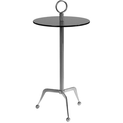 Adeline Stainless Steel End Table