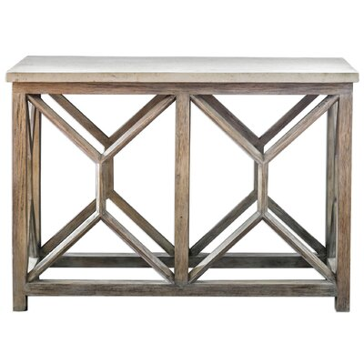 Niemann Stone Console Table