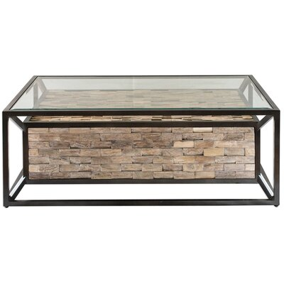 Braxten Reclaimed Teak Coffee Table