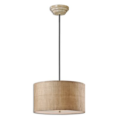 CK Generic 3-Light Dafina Drum Foyer Pendant