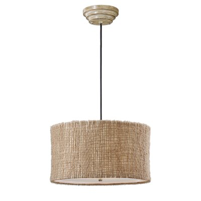 CK Generic 3-Light Burleson Drum Foyer Pendant