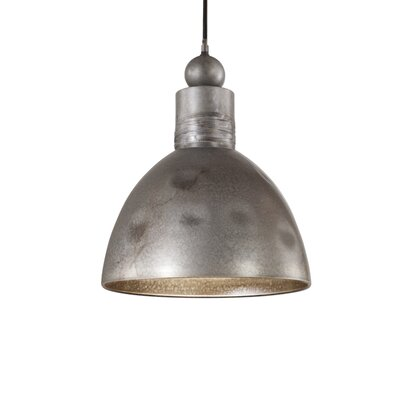 Adelino 1-Light Bowl Pendant